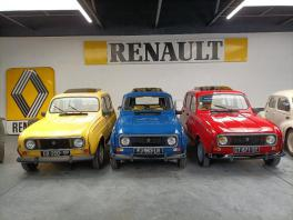 Renault 4l Sixties Jaune de collection à louer